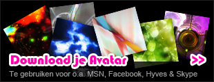 Download je fantasie avatar voor o.a. MSN, Facebook, Hyves & Skype.